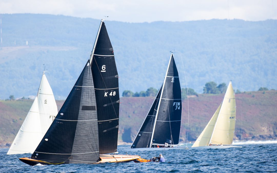 The Finns and the Swiss take control of the Xacobeo 6mR Europeans